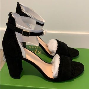 New in box! Never worn Kate Spade block heels.
